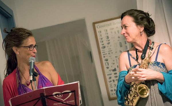 Silvana Kuhtz e musicista