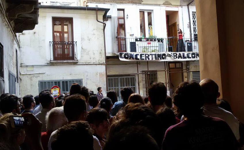 Concerto dal balconcino